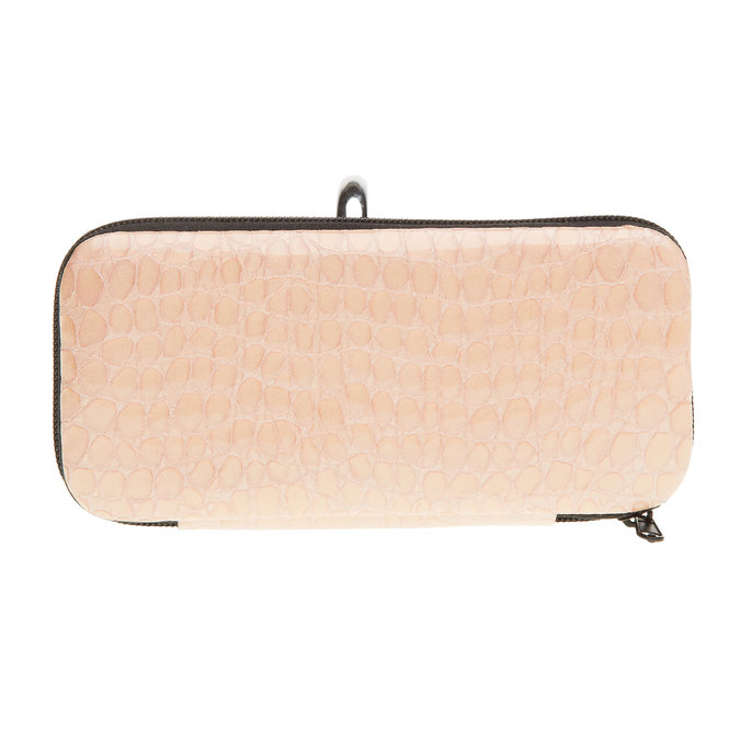 Manicure in a zippered leather case bata, 944-0323 - 26
