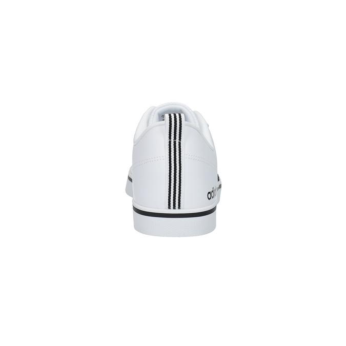 Men's white sneakers adidas, white , 801-1188 - 17
