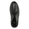 Leather Chukka boots bata, black , 824-6665 - 19