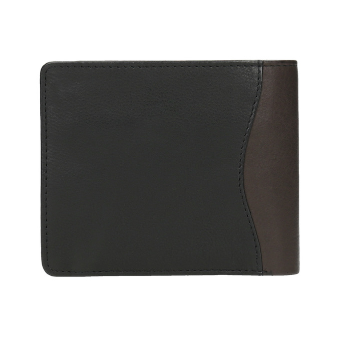 Stylish men's wallet bata, black , 944-6177 - 19
