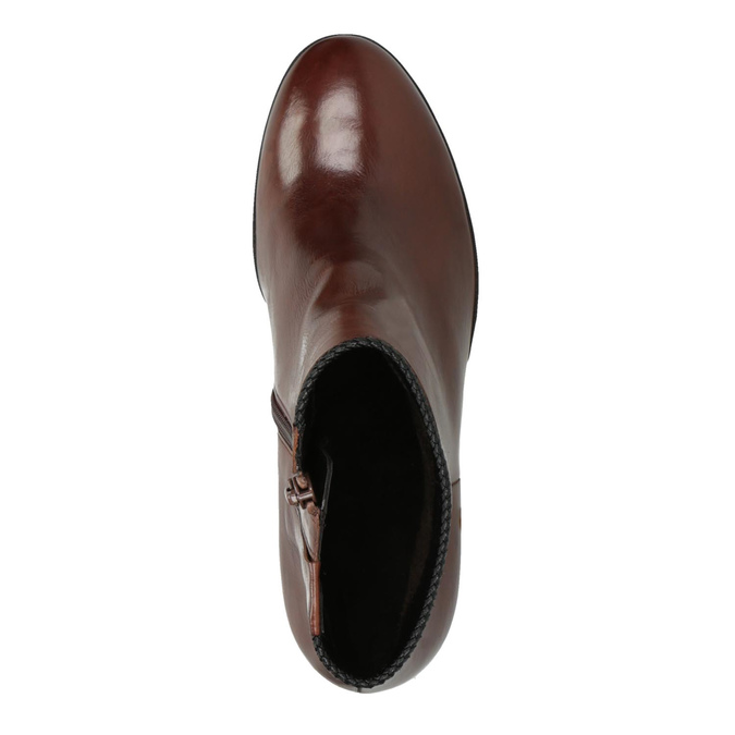Ladies´ heeled ankle-cut shoes gabor, brown , 794-3019 - 19
