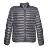 Men's jacket with quilting bata, gray , 979-2613 - 13