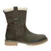 Ladies' winter boots with fur weinbrenner, khaki, 594-2455 - 26