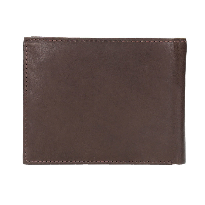 Men's leather wallet bata, brown , 944-4171 - 19