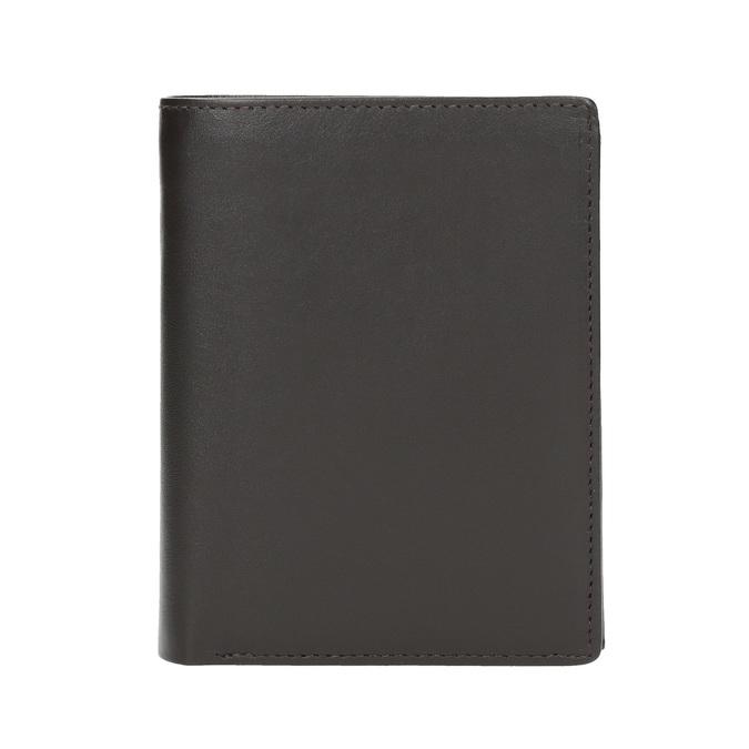 Men's leather wallet bata, brown , 944-4169 - 26