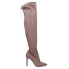 Ladies' over-knee high boots bata, brown , 799-3600 - 15