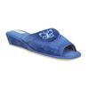 Ladies' slippers bata, blue , 679-9606 - 13