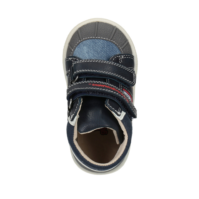 Kids' ankle boots bubblegummer, blue , 111-9613 - 19