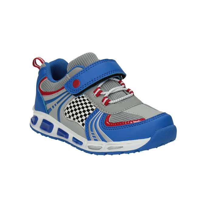 Children's sporty sneakers mini-b, blue , 211-9172 - 13