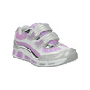 Children´s sneakers with glitter mini-b, gray , 221-2603 - 13
