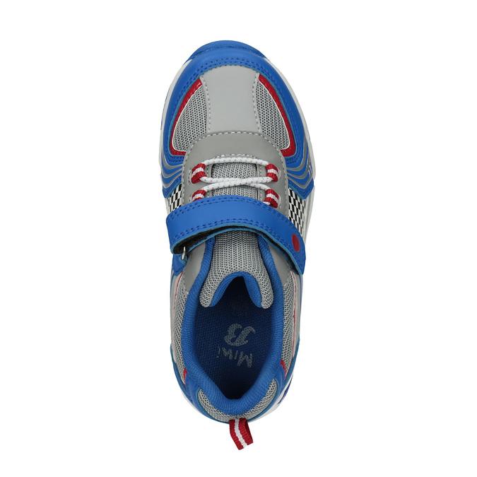 Children's sporty sneakers mini-b, blue , 211-9172 - 19