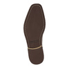 Leather ankle boots with zips bata, brown , 894-3684 - 26