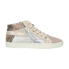 Ladies' leather tennis shoes bata, pink , 526-5614 - 15