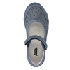Girls' ballet pumps with strap across instep bubblegummer, blue , 321-9603 - 19