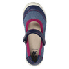 Ballerinas with an instep strap mini-b, blue , 329-9605 - 19