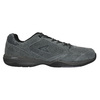 Men's leather sneakers power, gray , 803-2117 - 15