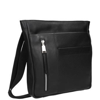 Men's crossbody bag bata, black , 964-6230 - 13