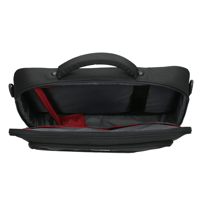 Laptop bag, black , 969-2393 - 15