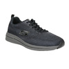 Men's sneakers with memory foam skechers, gray , 809-2141 - 13