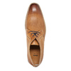 Leather Derby shoes bata, brown , 826-3802 - 19