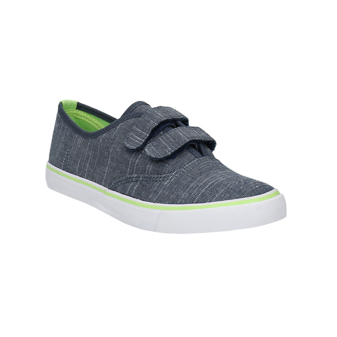 Children's sneakers with Velcro north-star-junior, blue , 419-9611 - 13