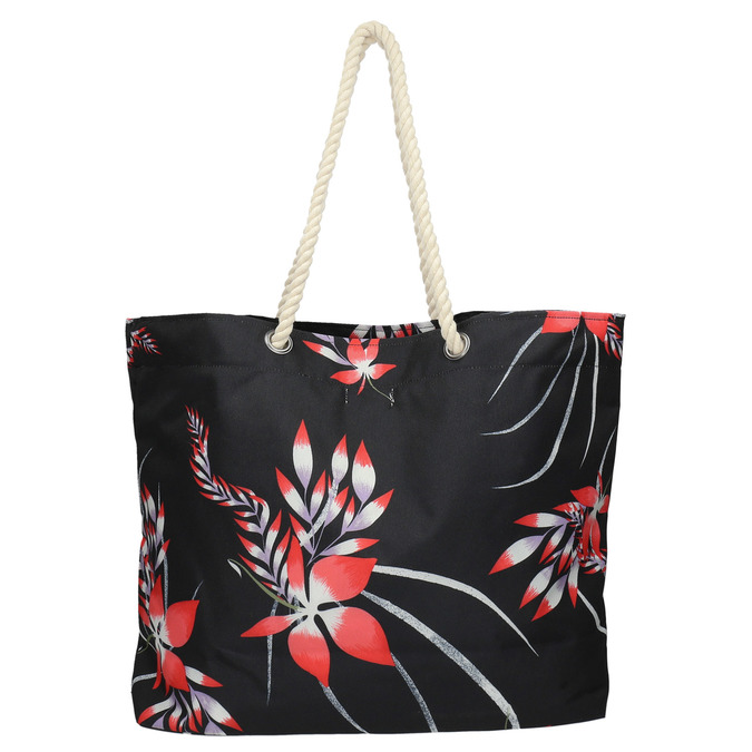 Beach bag roxy, black , 969-6059 - 26