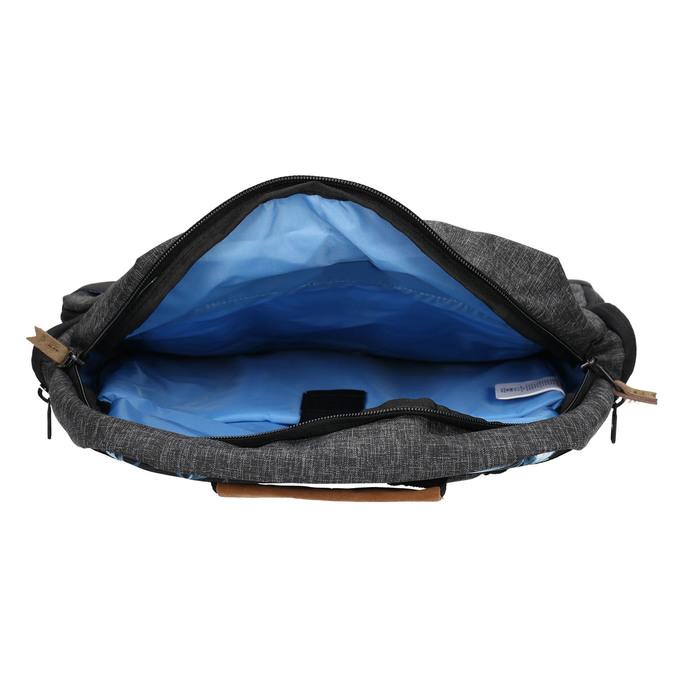Grey backpack quiksilver, gray , 969-2035 - 15