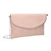 Pink clutch, pink , 961-5708 - 13