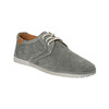 Casual grey leather shoes weinbrenner, gray , 843-2629 - 13
