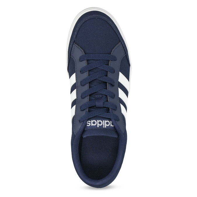 Men's casual sneakers adidas, blue , 889-9235 - 17