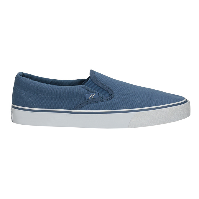 Blue slip-ons north-star, blue , 889-9286 - 15