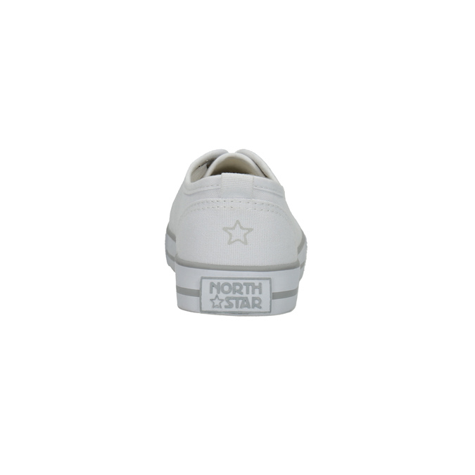 Ladies' casual sneakers north-star, white , 589-1443 - 17