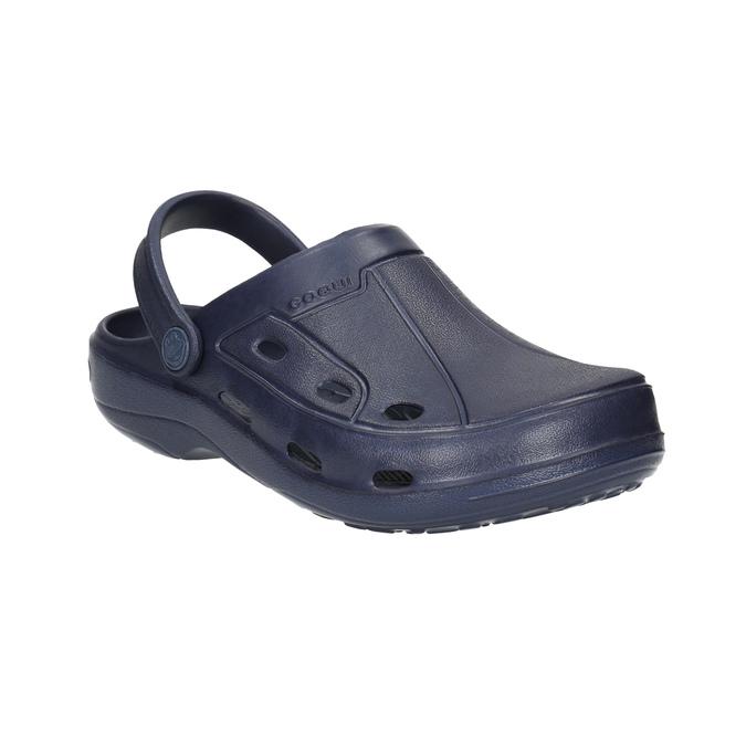 Children's blue sandals coqui, blue , 472-9610 - 13