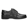 Men's shoes with a distinctive sole pinosos, black , 824-6540 - 15