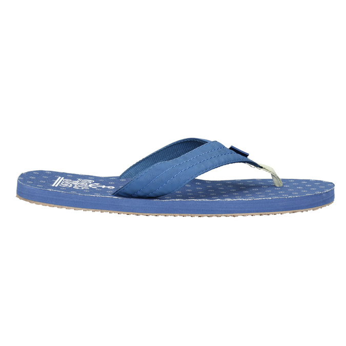 Men's blue flip-flops north-star, blue , 871-9616 - 15