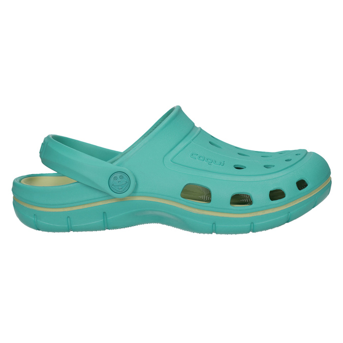 Ladies' turquoise sandals coqui, turquoise, 572-9606 - 15