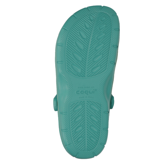 Ladies' turquoise sandals coqui, turquoise, 572-9606 - 19
