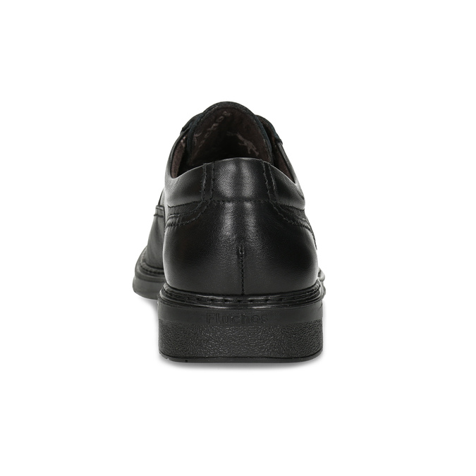 Men's leather dress shoes fluchos, black , 824-6448 - 15