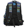 School backpack with stripes bagmaster, blue , 969-9651 - 19