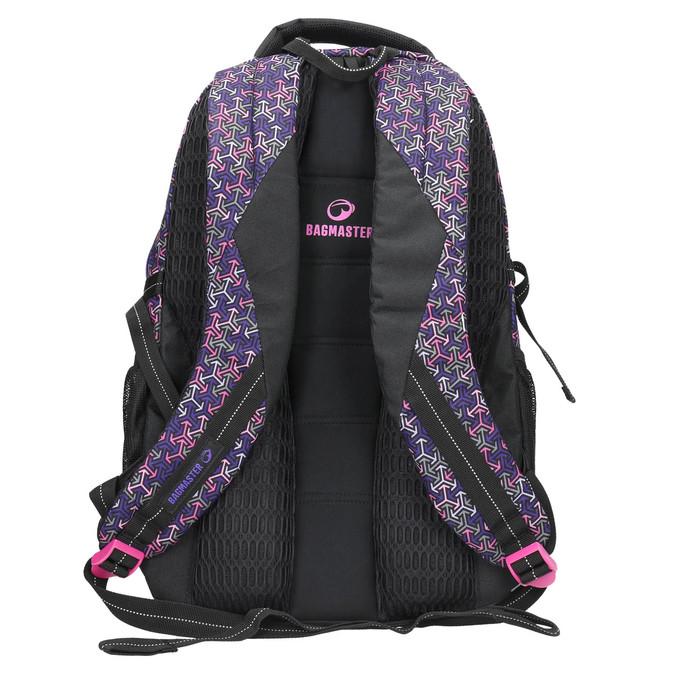 School backpack bagmaster, violet , 969-5648 - 19