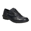 Ladies' leather oxford shoes bata, blue , 526-9640 - 13