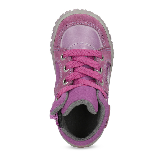 Girls' pink shoes bubblegummer, pink , 123-5601 - 17