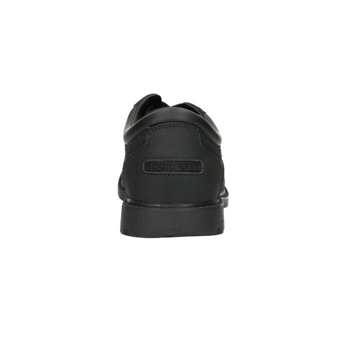 Men's leather shoes rockport, black , 826-6023 - 17