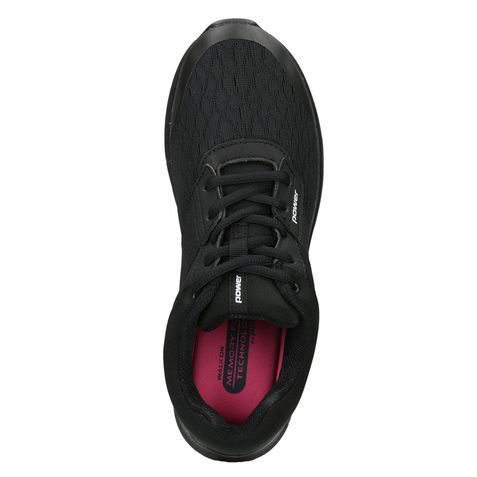 Ladies' Black Sneakers power, black , 509-6203 - 15