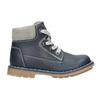 Kids' leather shoes bubblegummer, blue , 114-9610 - 15