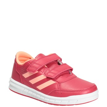 Children's Pink Sneakers adidas, pink , 301-5197 - 13