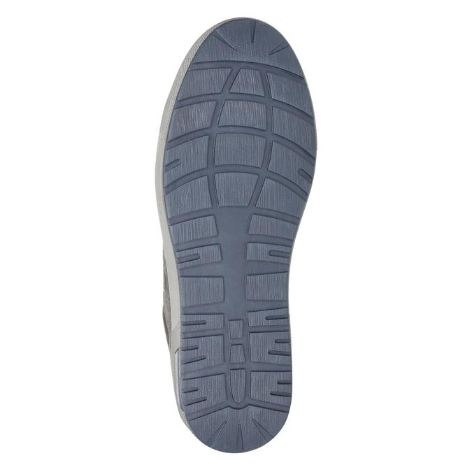 Men's ankle sneakers bata, gray , 846-2651 - 19