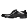 Men's leather Brogue shoes bata, black , 824-6227 - 26