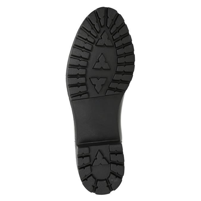 Ladies' Glossy Wellington Boots bata, black , 592-6400 - 17