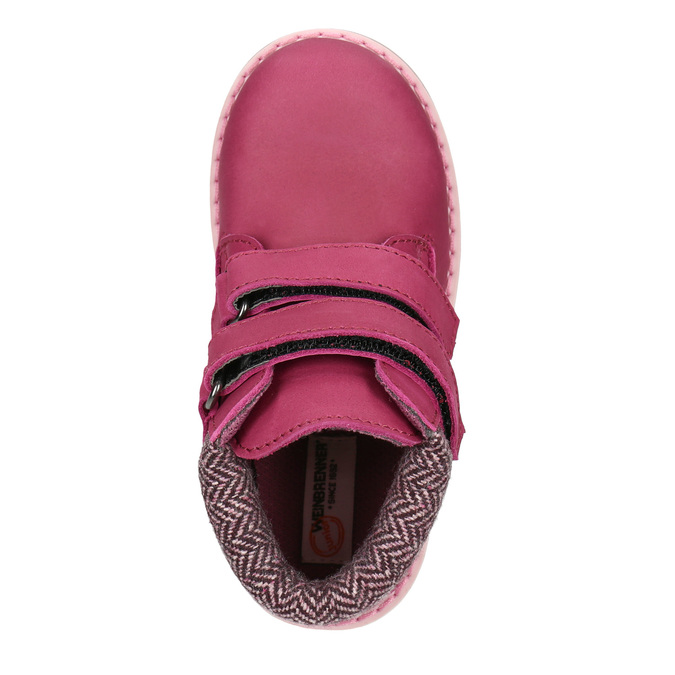 Children's pink winter boots weinbrenner-junior, pink , 226-5200 - 15